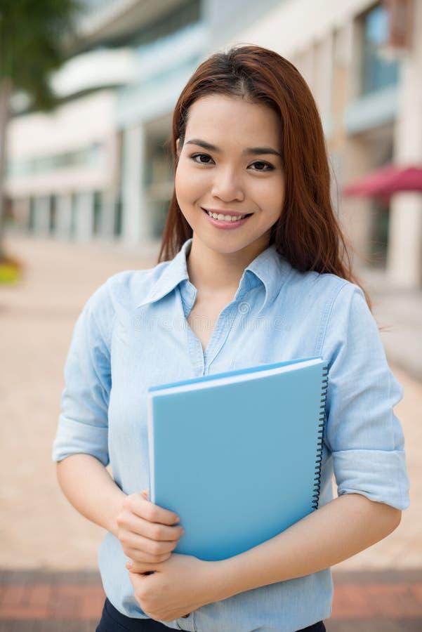 Étudiant diligent image libre de droits