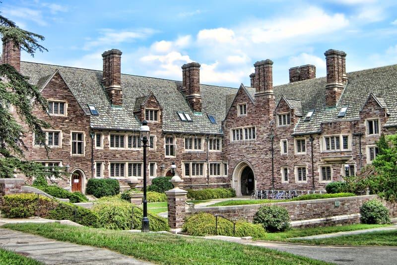 Étudiant Dormitory d'Université de Princeton photographie stock libre de droits