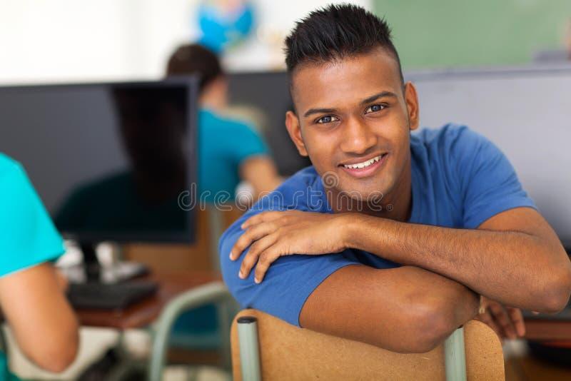 Étudiant indien masculin images libres de droits