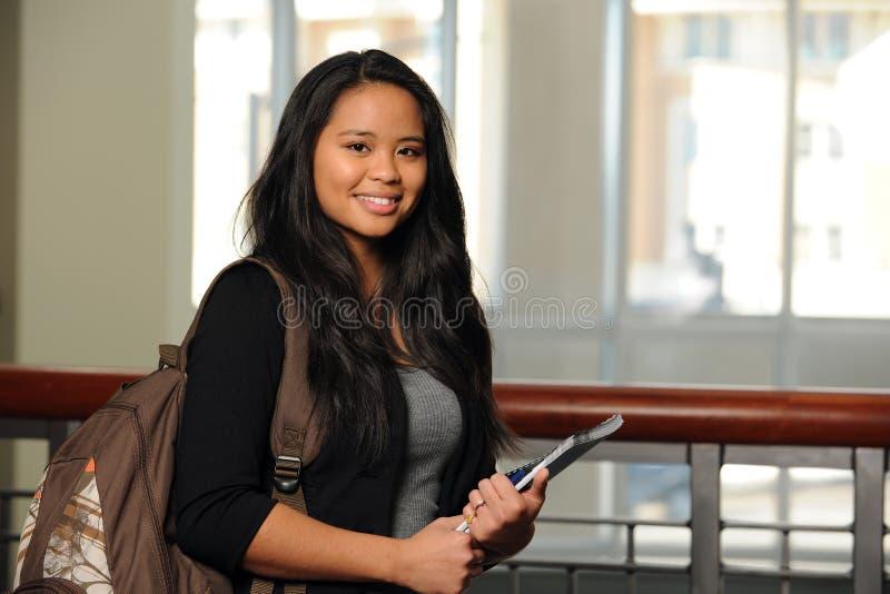 Étudiant philippin photos libres de droits