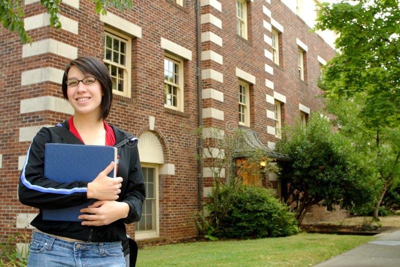 Étudiant universitaire image stock