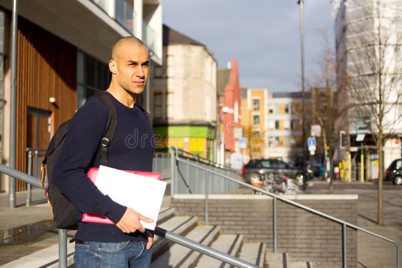 Étudiant universitaire photographie stock libre de droits