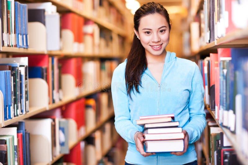 Étudiant universitaire asiatique photo libre de droits