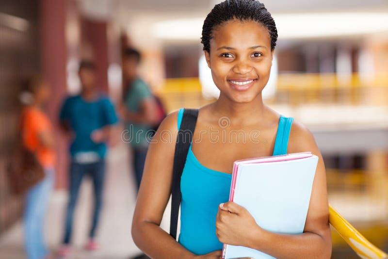 Étudiant universitaire féminin photos libres de droits
