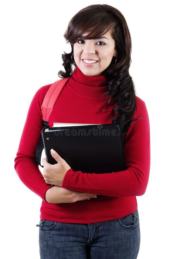 Étudiant universitaire féminin images stock