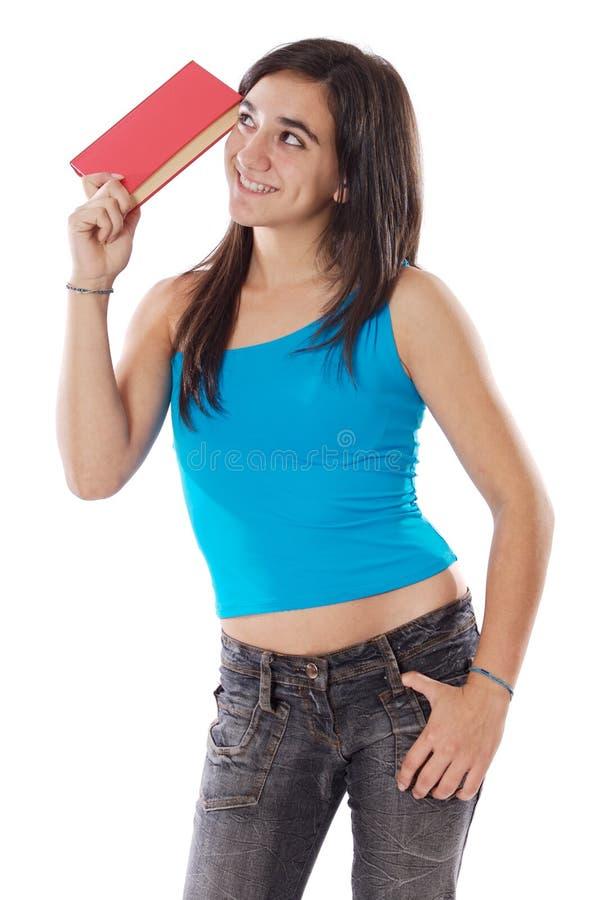Étudiante attirante photo libre de droits