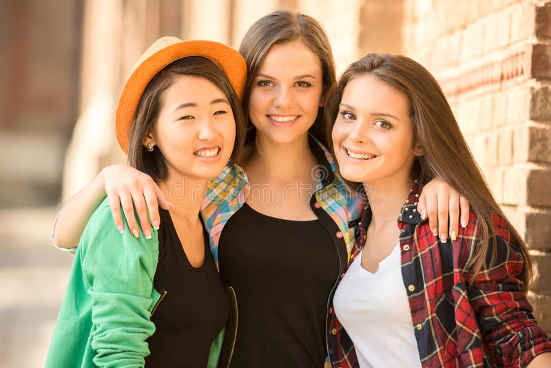 étudiants photographie stock