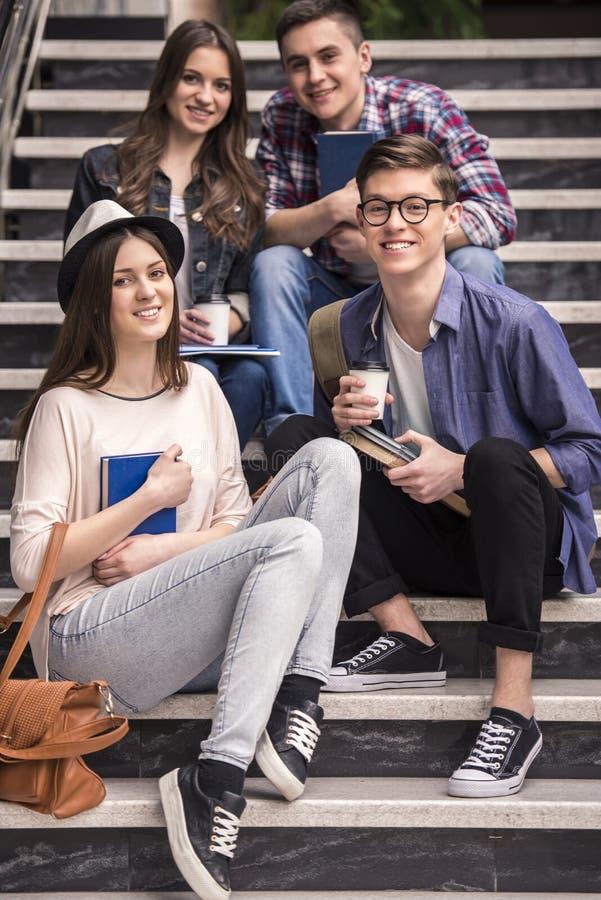 étudiants photos stock