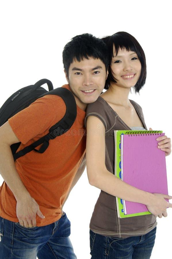 Étudiants asiatiques image libre de droits