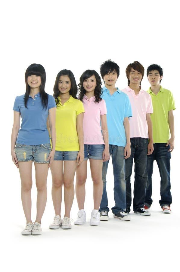 étudiants asiatiques jeunes images libres de droits