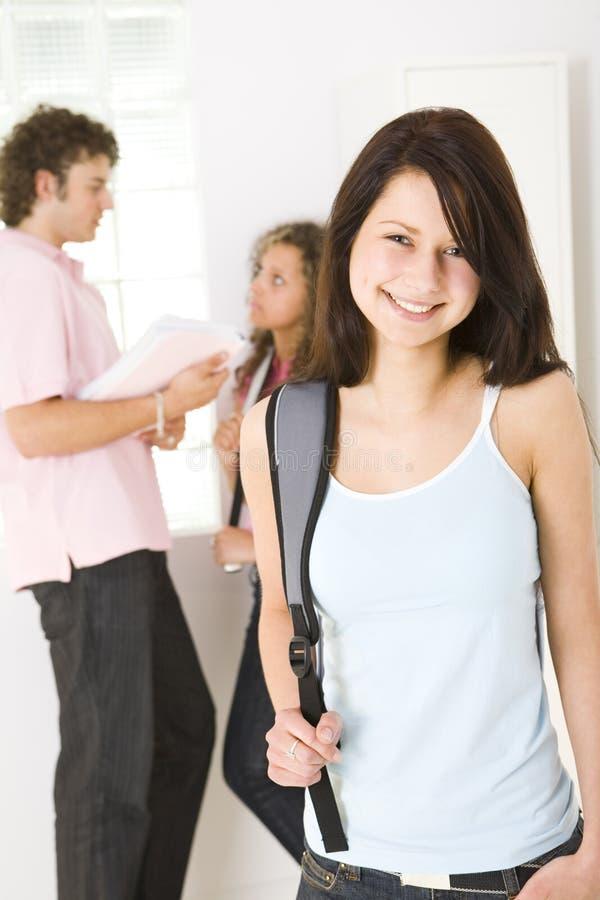étudiants d'adolescent images stock