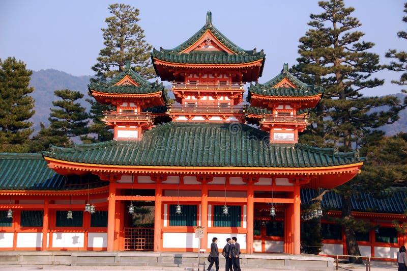 étudiants de pagoda photographie stock