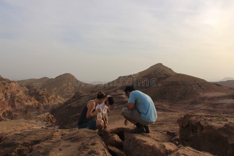 Étudiants israéliens dehors dans la nature photo libre de droits