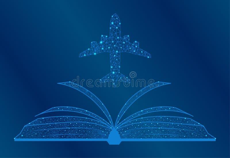 Étudier l'ensemble complet de l'aéronef et le réparer illustration libre de droits