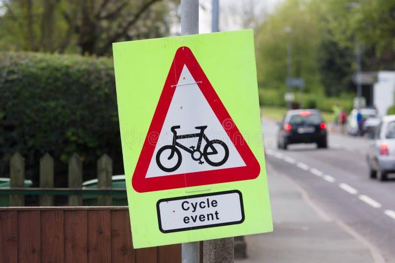Événement de cycle photos stock