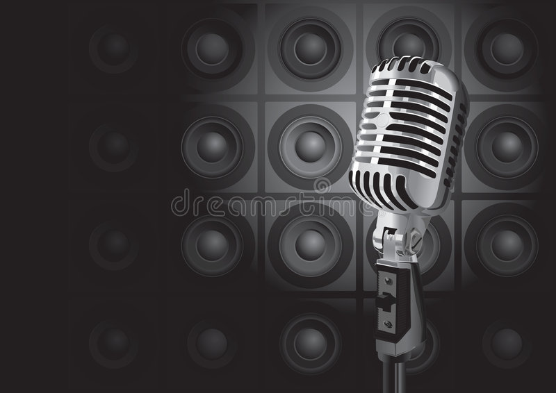 Événement de musique (vecteur) illustration stock