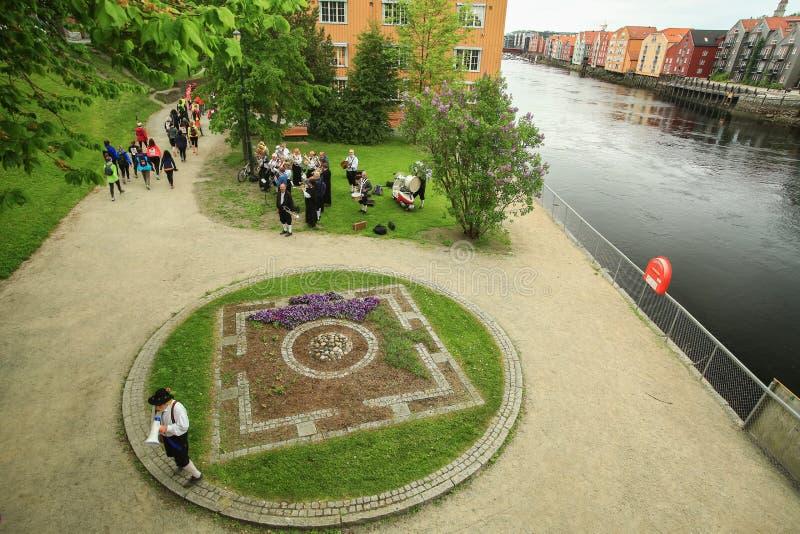 Événement Jentebølgen GirlsWave, Trondheim, 2016 images stock