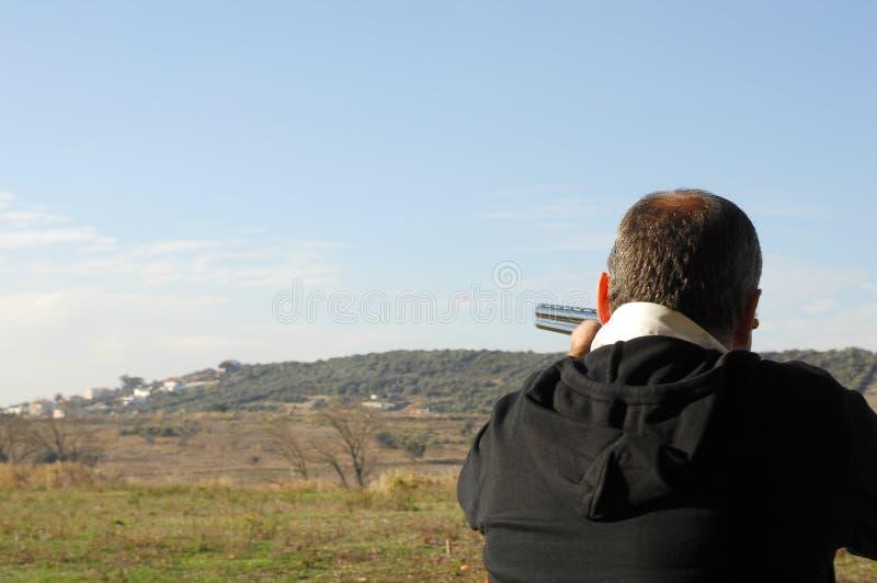 Événements de fusil de chasse - trappe photo libre de droits
