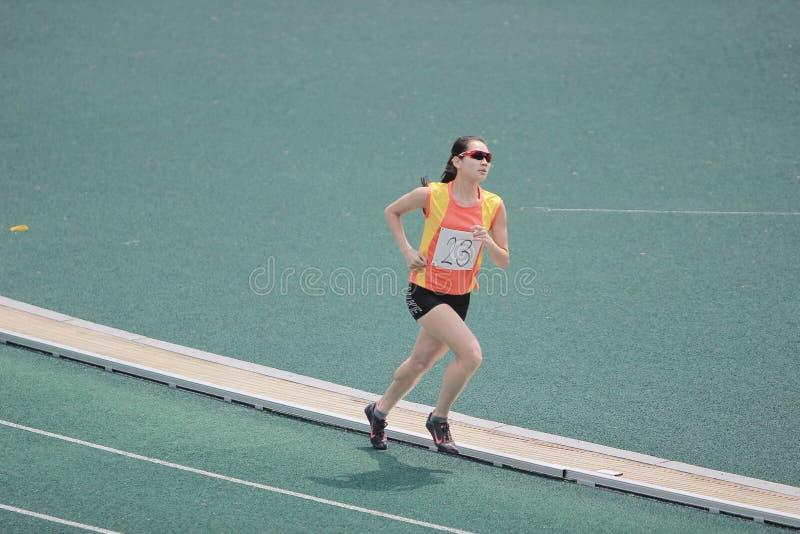 Événements de voie pendant 6ème Hong Kong Games photo stock