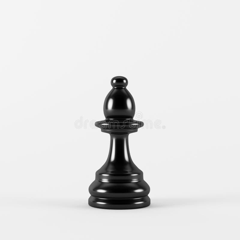 Évêque d'échecs illustration stock