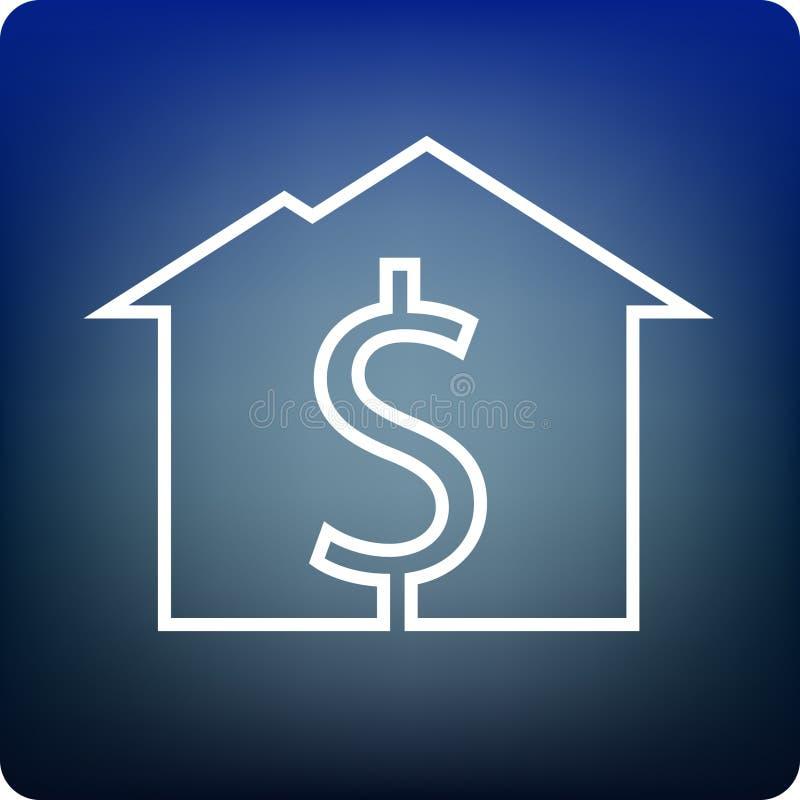 Évaluation à la maison illustration stock