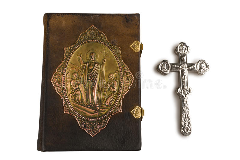Évangile orthodoxe photos stock