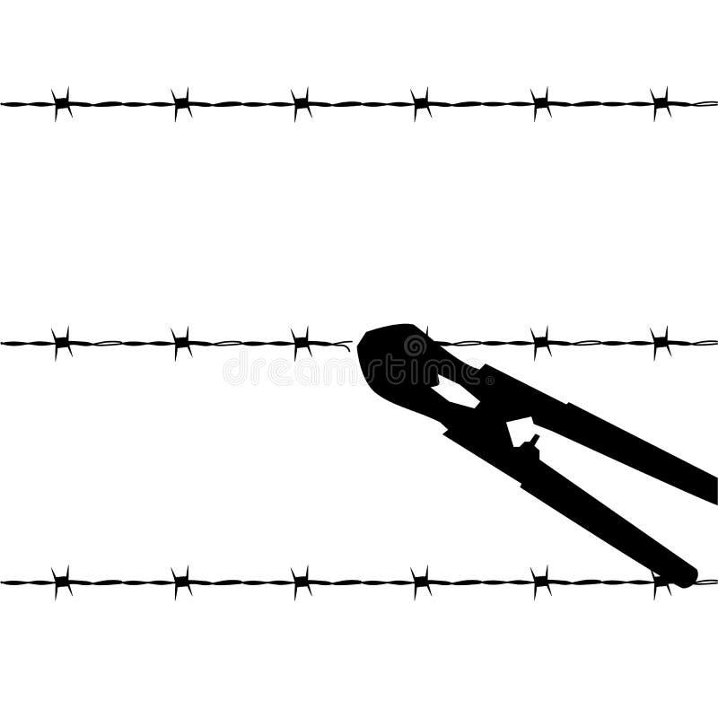Évasion illustration libre de droits
