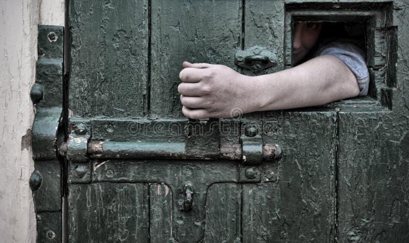 Évasion de captivité images stock