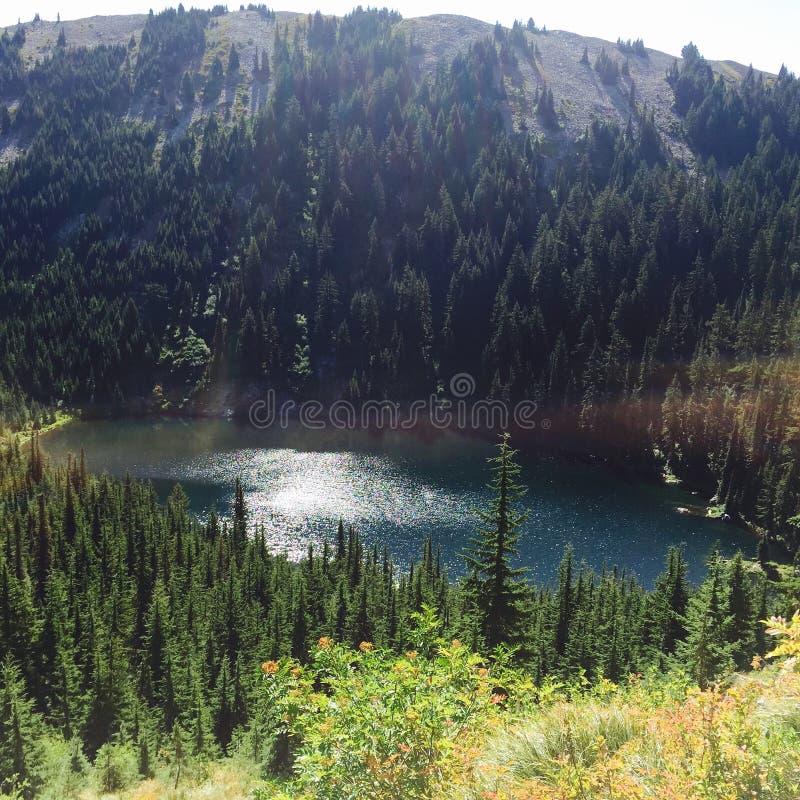 Évasion de lac mountain photographie stock libre de droits