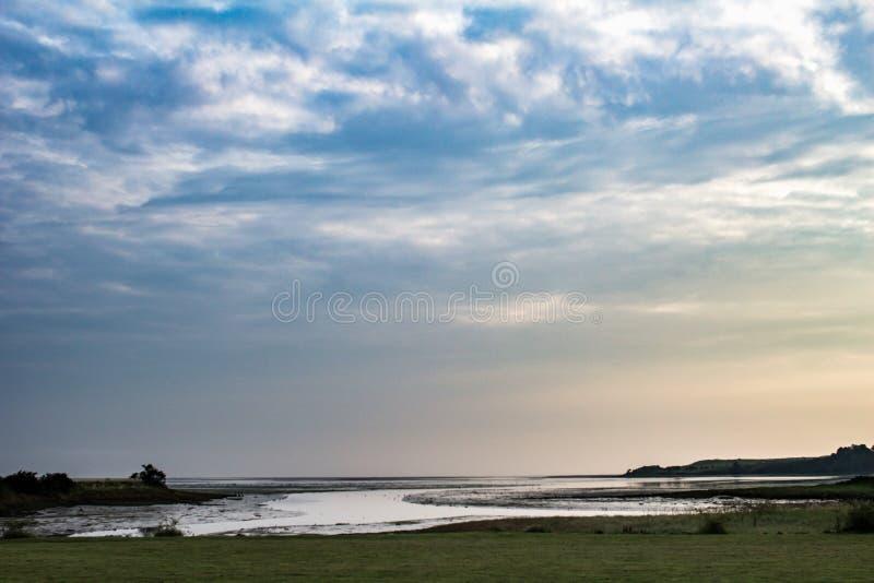 Évasion de mer au soleil réglée photo libre de droits