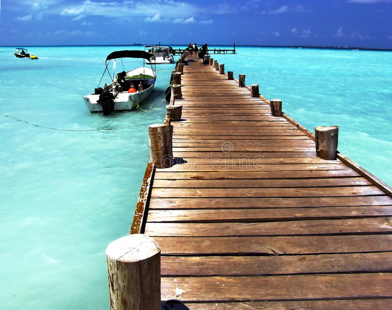 Évasion des Caraïbe images stock