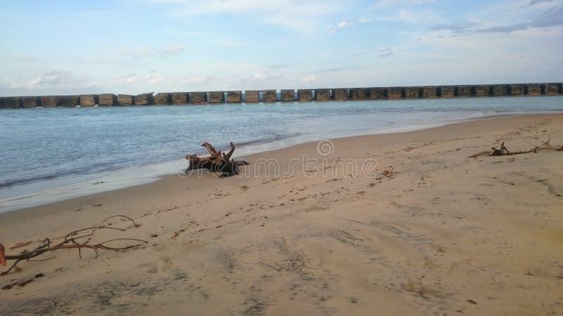 Évasion Manakara de Digue photo stock