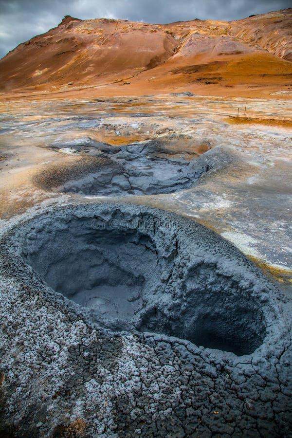 Évents géothermiques image libre de droits