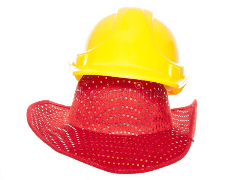 Évitez le constructeur de cowboy image stock