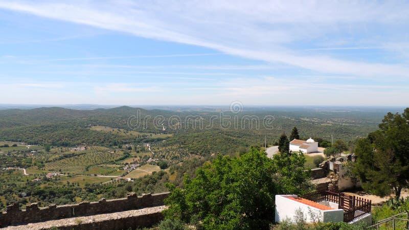 Évora Monte, Portugal imagens de stock