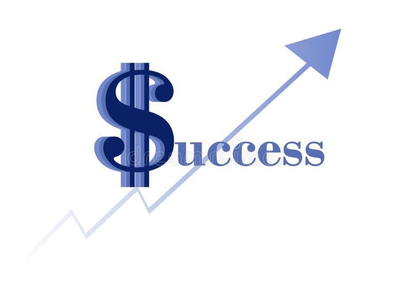 Éxito stock de ilustración
