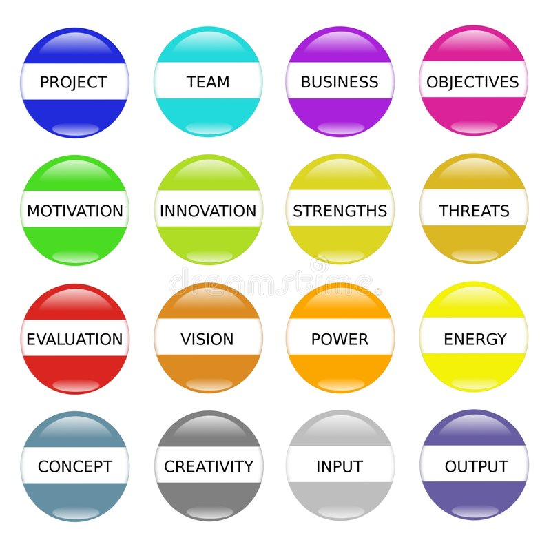 Éxito de la motivación de la innovación stock de ilustración