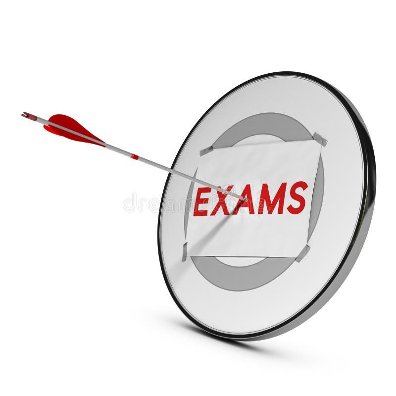 Éxito de los exámenes Resultados excelentes libre illustration