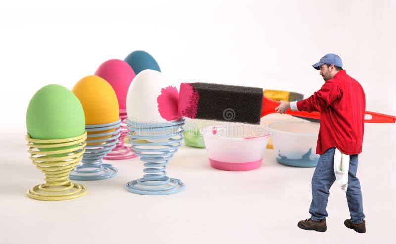 Être prêt pour Pâques photo libre de droits