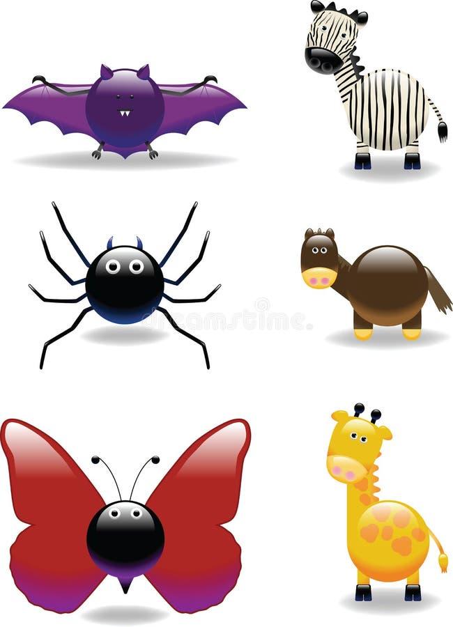 Ícone animal 8 ilustração stock