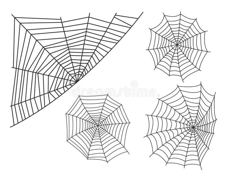 Ícone animal assustador liso gráfico do vetor do horror do perigo do inseto da natureza do projeto do medo do aracnídeo da silhue ilustração do vetor