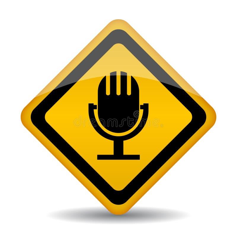 Ícone audio ilustração do vetor