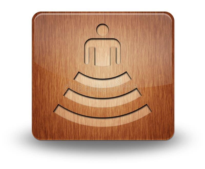 Ícone, botão, anfiteatro do pictograma fotografia de stock