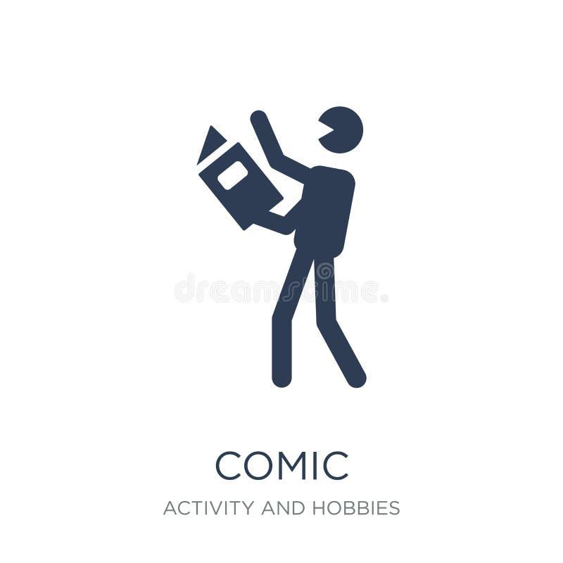 Ícone cômico  ilustração royalty free
