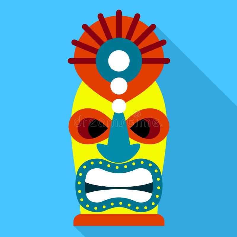 Ícone colorido do ídolo, estilo liso ilustração royalty free