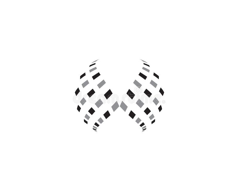 Ícone colorido do logotipo do mundo do fio ilustração do vetor