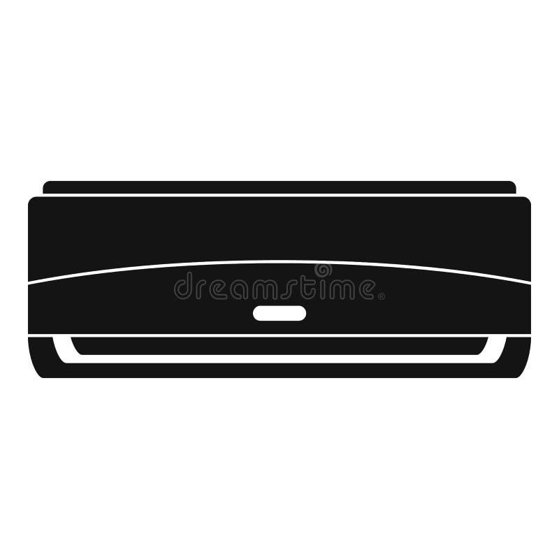 Ícone comercial do condicionador, estilo simples ilustração stock