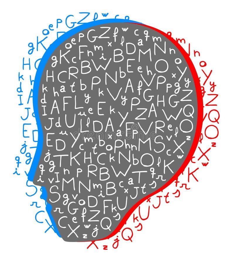 Ícone creativo da enciclopédia ilustração stock