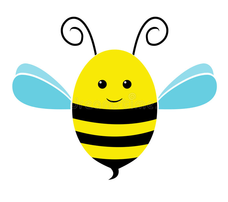Ícone da abelha ilustração do vetor