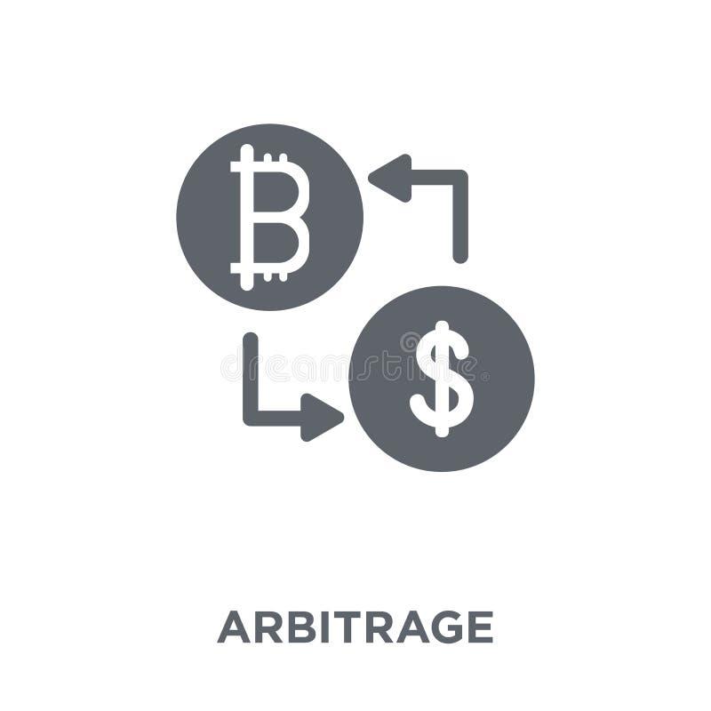 Ícone da arbitragem da coleção da arbitragem ilustração royalty free
